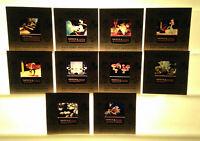 Vinage Walt Disney Craftsmen's Guild 35MM Color Slides FANTASIA--Free Ship