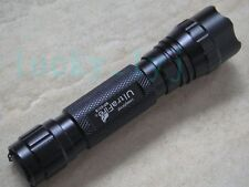 Tactical CREE Q5 LED Flashlight 1-mode Torch 501B + Nylon Holster Hiking Camping