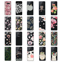 Flower Soft TPU Phone Case For Samsung Note8 S7 Edge S6 S7 Cover