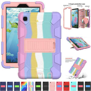 For Samsung Galaxy Tab A7 Lite 8.7 T220 T225 Heavy Duty Rugged Stand Case Cover
