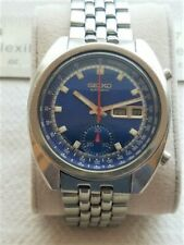 I'm Selling a Used Vintage Seiko 6139-6015 Chronograph with Nice Blue Dial.