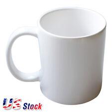 US Sock 36pcs Blank White Mugs A Grade 11OZ Heat Press Sublimation Coated Mugs