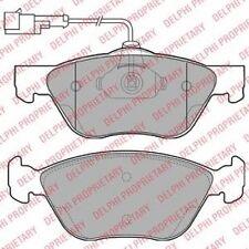DELPHI LP1587 Bremsbelagsatz, Scheibenbremse   für Alfa Romeo 156 GTV Spider