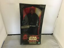 Star Wars Episode 1 Darth Maul W/ Lightsaber 12 Inch Figure 1998 Hasbro  #57132