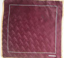 Foulard gavroche KIESELSTEIN CORD soie TBEG vintage SCARF 44 X 45 cm dba6b285b88