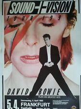 DAVID BOWIE  1990  FRANKFURT ++ orig. Concert Poster - Konzert Plakat  A1  NEU