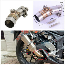 1 x  Muffler link pipe Motorcycle Exhaust Pipe Muffler Escape Connecting Pipe
