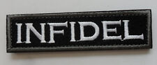 infidel Morale Tactical Patch Multitan 3.75 inch  PATCH