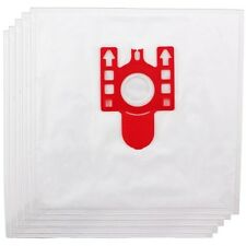 5X Microfibre Dust Bags For Miele Vacuum Cleaners With Filters SAME AS FJM HS225