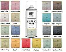 Chalk Paint Spray - Water Based - 19 ELEGANT COLOURS & WAX - Made In Spain