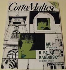 CORTO MALTESE nr. 9 del 1991 (con inserto V PER VENDETTA)