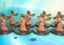 Star Wars Miniatures Lot  Jawa Scavenger Imperial Entanglements !!  s97