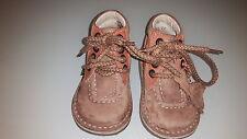 zapatos KICKERS niño Marrón número 22 Casi Nuevo Excelente Estado