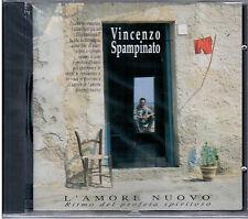 """VINCENZO SPAMPINATO """"L'amore nuovo"""" CD RARO FC 1992 Dalla-Battiato NUOVO SEALED"""