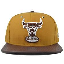 Chicago Bulls New Era METAL HOOK Peanut Butter Snapback 9Fifty NBA Hat