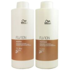 Wella Fusion Intense Repair regenerierendes Shampoo & Conditioner je 1000 ml Set