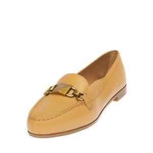 RRP €360 MICHAEL MICHAEL KORS EMILY Leather Shoes Mismatch Size L39 R38.5 Logo
