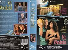 MR. WONDERFUL - Matt Dillon - VHS - PAL -NEW -Never played! -Original Oz release