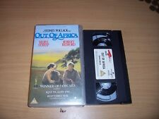 OUT OF AFRICA VHS SYDNEY POLLARK FILM ,MERYLE STREEP,ROBERT REDFORD