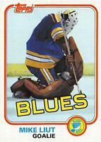 (HCW) 1981-82 Topps #20 Mike Liut NM-MT Blues