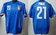 MONDO REPLICA ITALIA NAZIONALE ITALIANA MAGLIA PIRLO 21 QUALIFICA EUROPEI TG. XL