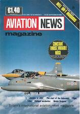 AVIATION NEWS V18 N9 BELL UH-1 US ARMY RNZAF USN_DC-5 R5D-2 USMC_RAF JET PROVOST