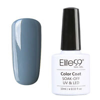 Elite99 UV LED Gel Soakoff Vernis à Ongles Multicolore Nude Semi Permanent