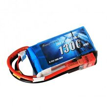 Gens Ace 3S 1300mAh 11.1V 25C 3S1P Lipo Battery with Deans Plug End