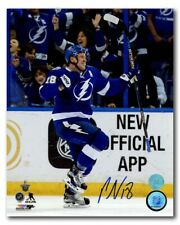 Ondrej Palat Tampa Bay Lightning Autographed NHL Goal Celebration 8x10 Photo