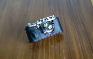 Mr Zhou Leather Half Case for Leica Camera IIIg IIIf IIIc IIIa 2021 New version