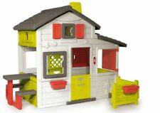 Smoby Gartenhaus Spielhäuser Outdoor wetterfest Kinder Spielzeug ab 2 Jahren