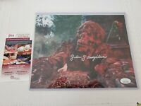 JOHN AMPLAS AUTOGRAPHED signed  8X10 COLOR PHOTO (CREEPSHOW) - JSA COA