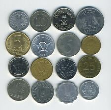 Lot of 16 World Coins - 16 Different Countries - Great Starter - Lot #212