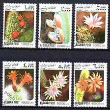 Flore - Cactus Afghanistan (4) série complète de 6 timbres oblitérés