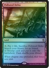 Polluted Delta (FOIL) - Khans of Tarkir - Magic the Gathering - NM - English