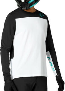 Fox Defend Delta Long Sleeve Mens Cycling Jersey - White
