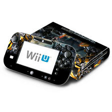 Skin Decal Cover for Nintendo Wii U Console & GamePad - Transformers Bumblebee 2