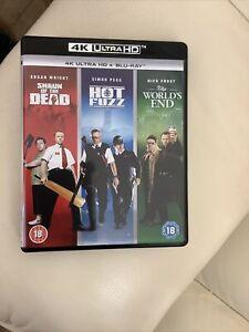 Cornetto Trilogy Shaun of the Dead Hot Fuzz World's End 4K UHD Ultra HD Movie
