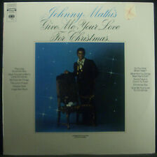 LP Johnny Mathis - Give Me Your Love for Christmas, US, Original Packaging