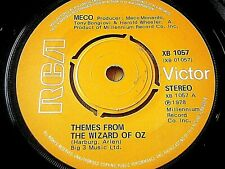 "MECO - THEMES FROM THE WIZARD OF OZ   7"" VINYL"