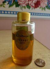RARE Antique VTG 1930s-40s A. Breslauer Co. CONTOURE Herbal Oil 2 Oz 75-80% Full