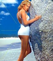 1978 UNIDENTIFIED MODEL In Bikini Swimsuit Original 35mm