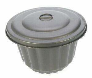 Wasserbadform Mehlbeutelform Kohlpudding antihaftbeschichtet 1, 2, 2,8 Liter