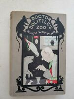 Doctor Dolittle's Zoo by Hugh Lofting Rare 1st Edition 1925
