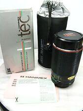 Vintage NEW NOS HANIMEX HITEC 70-210mm F3.5-F4.5 Camera SLR Lens CANON AE1 Mount
