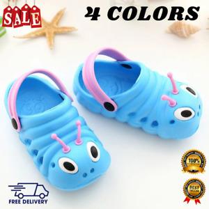 Toddler Kid Girls Boys Sandals Caterpillar Summer Beach Slippers Flip Shoes