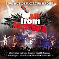 I AM FROM AUSTRIA - LIVE AUS DEM CIRCUS KRONE  2 CD NEW!