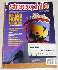 Stereophile Vol.17 #9 Sept 1994 ProAc Proceed Krell Jadis OracleSony Paradigm