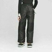 NEW Champion C9 Boy's Adjustable Waist Snow Pant Black Select Size