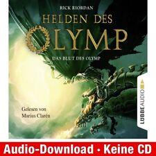 Hörbuch-Download (MP3) ★ R. Riordan: Helden des Olymp, Teil 5: Das Blut des Oly…